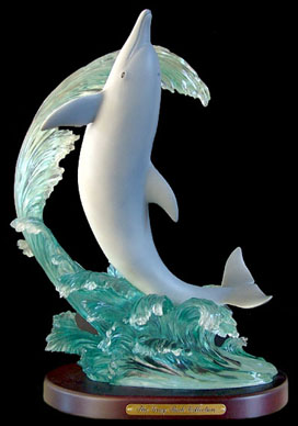 Tidal Wave Dolphin Statue