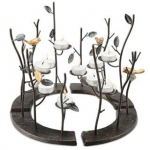 Birds Circular Candle Holder