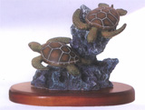 Duo Sea Turtle Figurine