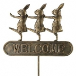 Parade Bunnies Welome Sign