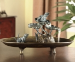 Frog Couple Table Fountain