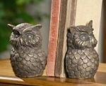 Pair Owl Bookends