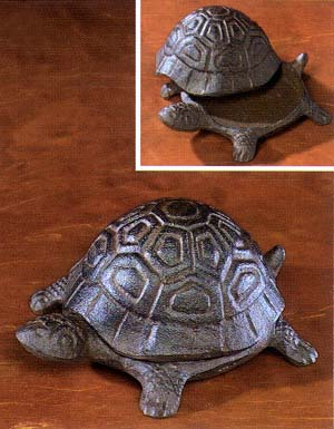"Sea Turtle Keepsake Box and ""Key Hider"""