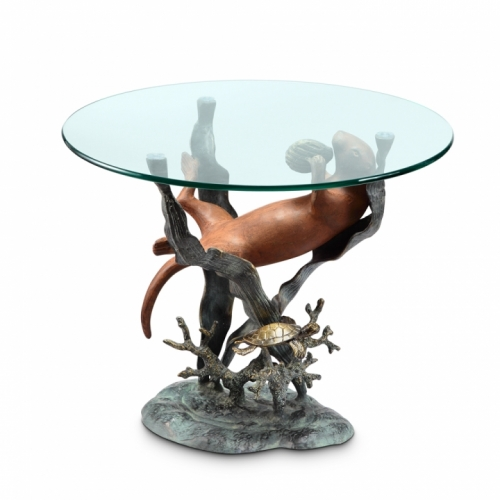 Sea Otter End Table