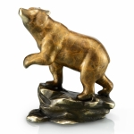 Crouching Bear Sculpture