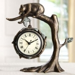 Bear & Tree Clock
