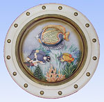 Tropical Fish Porthole #B