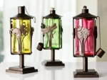 Wildlife Oil Lanterns, Set of 3