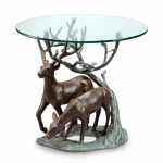 Loving Deer end Table