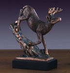 """Loving"" Elk Sculpture"