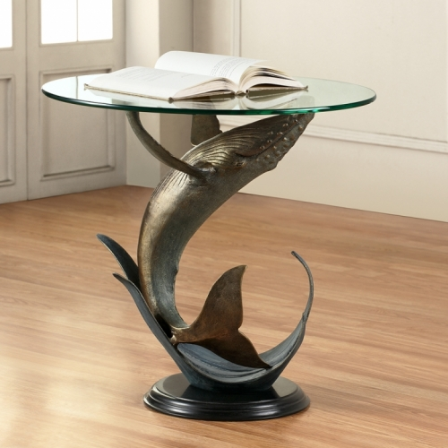Humpback Whale End Table