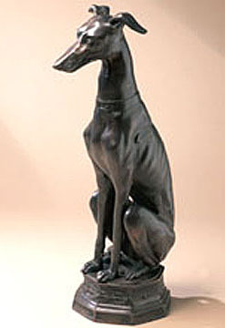 Greyhound at Rest Statue