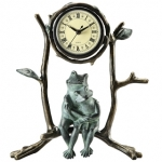 Mother & Baby Frog Clock