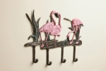 Pink Flamingo Coat Hook