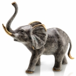 Bellowing Elephant Sculpture