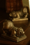 Bulldog Bookends