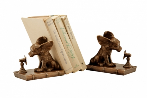 Cool Dog Bookends