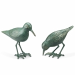 Sandpiper Pair Sculptures