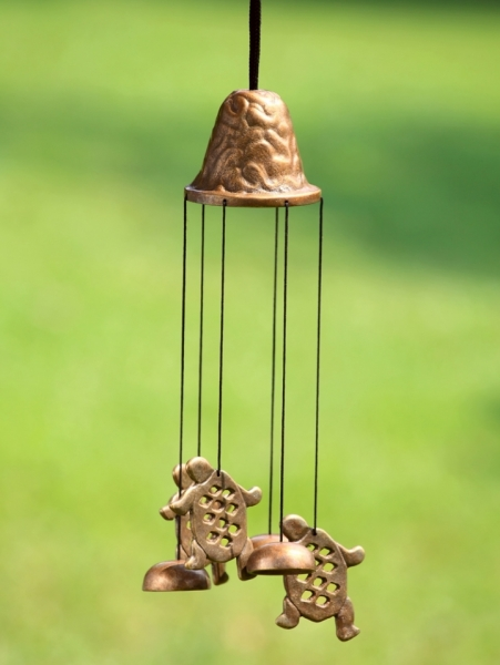 Stylized Turtle Wind Chime