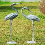 Heron Pair Sculptures