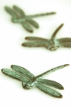 Dragonfly Mini Sculptures - Set of 3