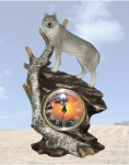 """Hour of the Wolf"" Clock"