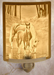 Cool Waters Lithophane Night Light