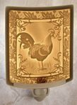 Rooster Lithophane Night Light