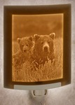 Mother & Cub Lithophane Night Light