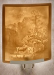 Serenity Lithophane Night Light