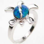 Sea Turtle Ring Size 6