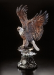 """Over the Rainbow"" Eagle Sculpture"