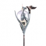 Hummingbird Oil Lamp and Stake