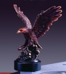 Eagle with Fish Sculpture