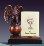 Eagle on Globe Picture Frame or Trophy