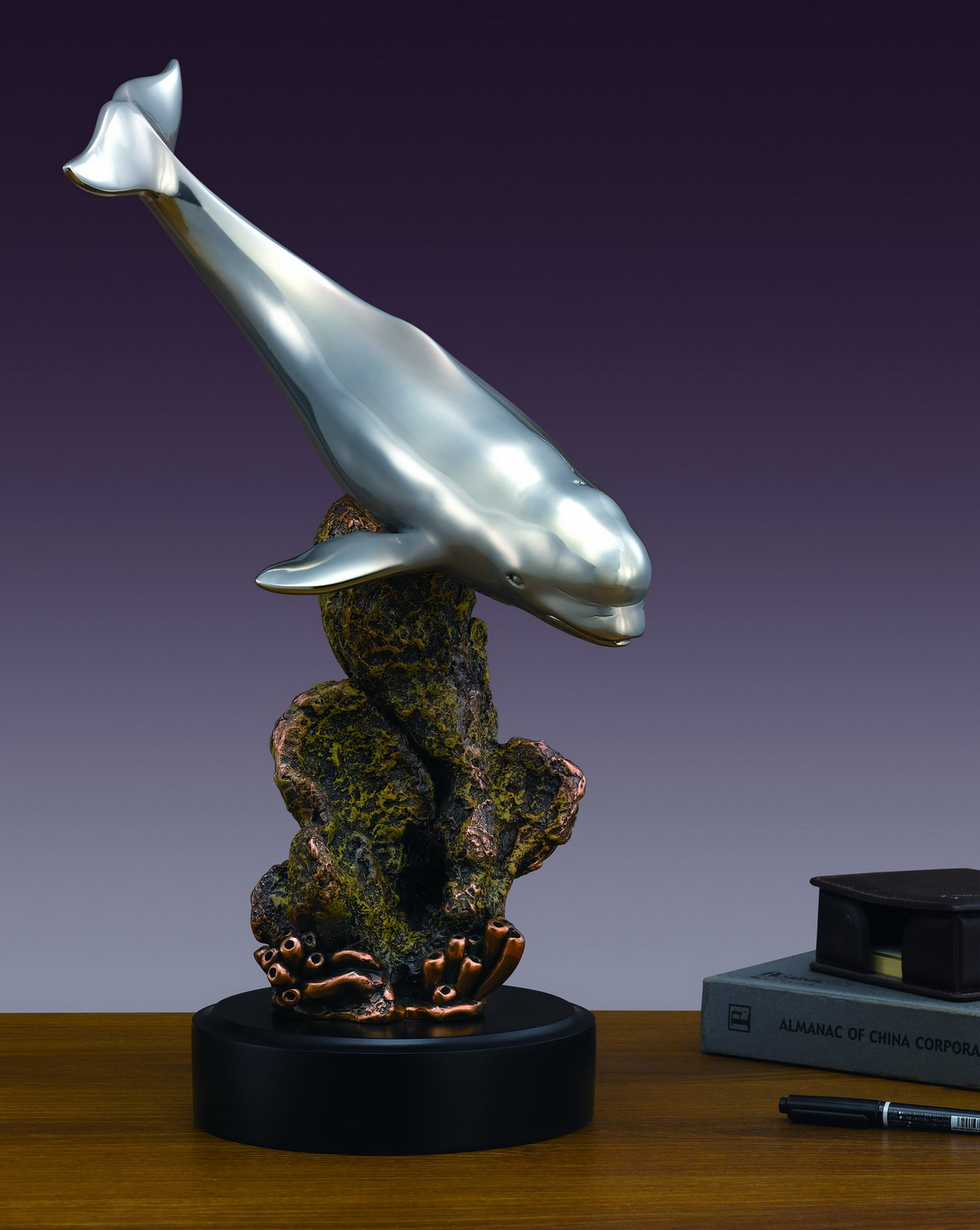 Beluga Whale Sculpture