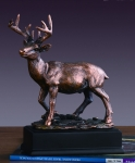 White Tail Deer Sculpture