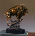 Buffalo Sculpture - Large