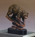Downhill Bear Sculpture