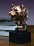 Bear Head Sculpture