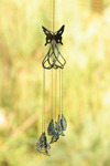 Stylized Butterfly Wind Chime