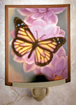 Butterfly Colored Lithophane Night Light