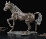 """The Stallion"" Large Bronze Sculpture"