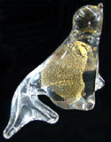 Hand-Crafted Glass Seal Figurine