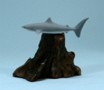 Mini Grey Shark Sculpture