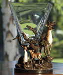 Imperial Deer Square Vase