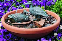 Medium Pair Duck Water Fountain