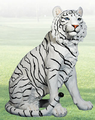"""Ishtar"" Tiger Sculpture"