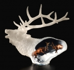 """Proud Spirit"" Elk Sculpture"